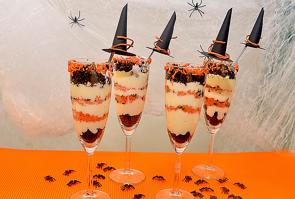 halloween oreo parfaits rezept mit bild von bubbles75. Black Bedroom Furniture Sets. Home Design Ideas