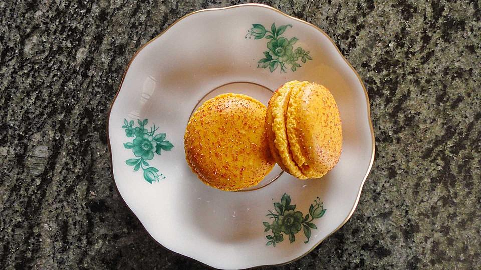 chai latte macarons rezept mit bild von moodley. Black Bedroom Furniture Sets. Home Design Ideas