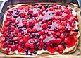 Schneller Sommerkuchen bzw. Beerenkuchen