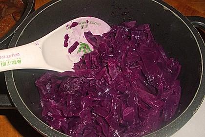 Preiselbeer-Blaukraut-Rotkohl 7