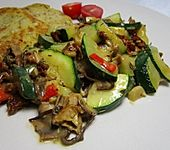 Smokeys Zucchini-Steinpilz-Gemüse
