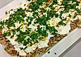 Türkischer Hähnchensalat