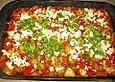 Ofengemüse mit Feta überbacken