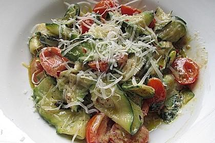 """Zucchini-Nudeln """"aglio e olio"""" 11"""