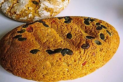 Kürbis-Kartoffel-Brot