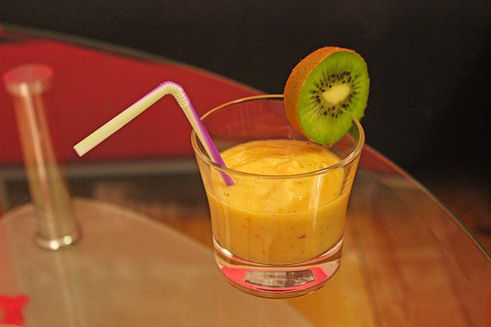 apfel mango kiwi smoothie von almprinzessin. Black Bedroom Furniture Sets. Home Design Ideas