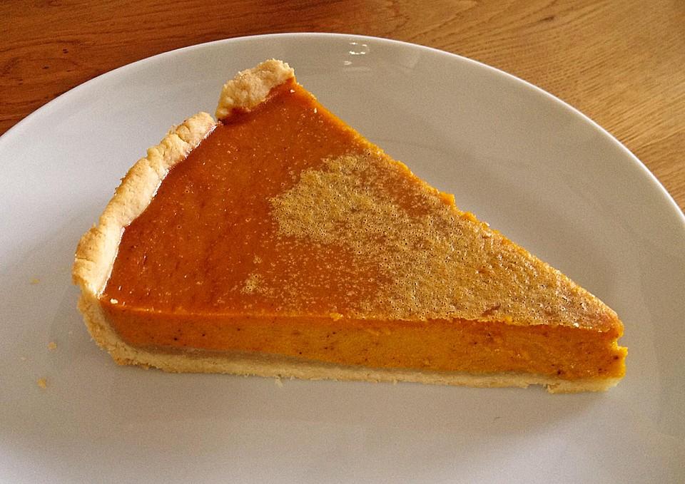 amerikanischer authentischer pumpkin pie rezept mit bild. Black Bedroom Furniture Sets. Home Design Ideas
