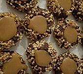 Toffee-Nuss Kekse