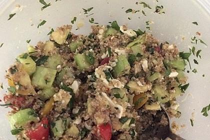 Quinoa Powersalat mit Tomaten und Avocado 44