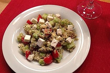 Quinoa Powersalat mit Tomaten und Avocado 17