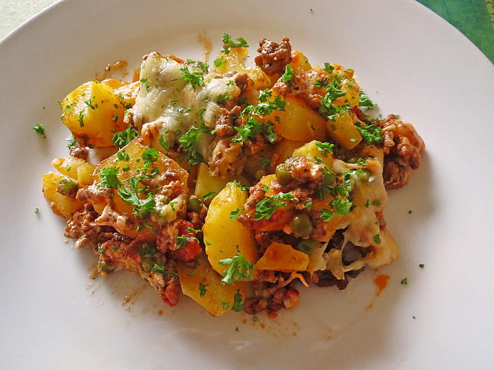Kartoffel-Hack-Auflauf