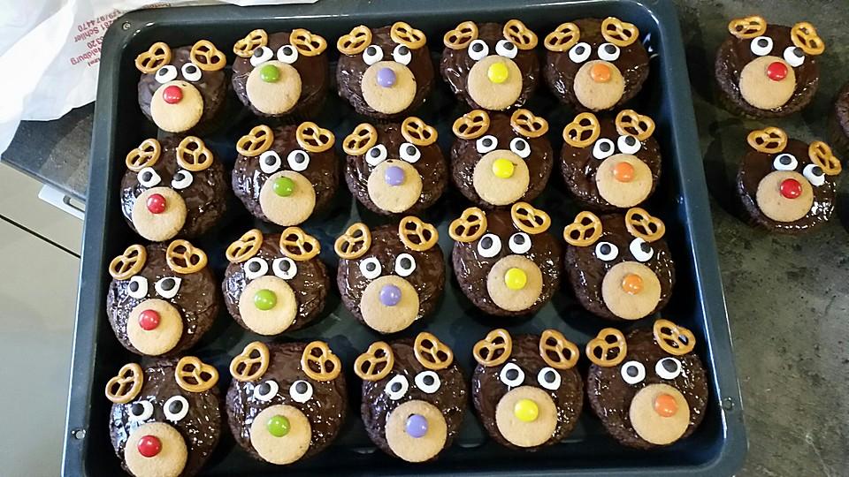 rudolph muffins rezept mit bild von moosmutzel311. Black Bedroom Furniture Sets. Home Design Ideas
