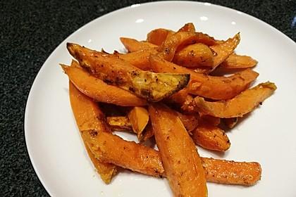 Knusprig frittierte Süßkartoffel-Pommes 7