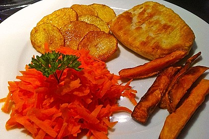 Knusprig frittierte Süßkartoffel-Pommes 17