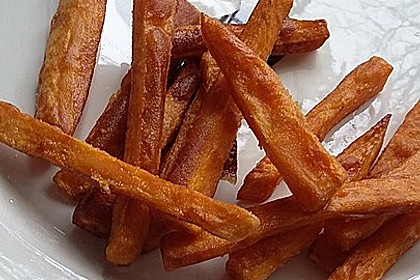 Knusprig frittierte Süßkartoffel-Pommes 10