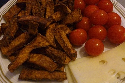 Knusprig frittierte Süßkartoffel-Pommes 22