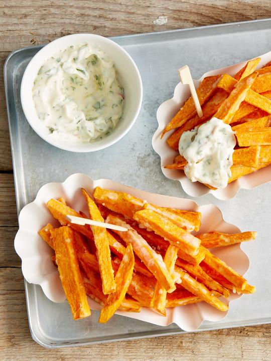 knusprig frittierte s kartoffel pommes von gwc. Black Bedroom Furniture Sets. Home Design Ideas