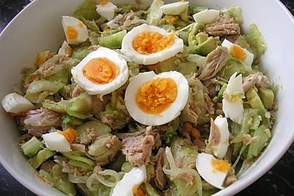 Avocado-Thunfisch Salat 1