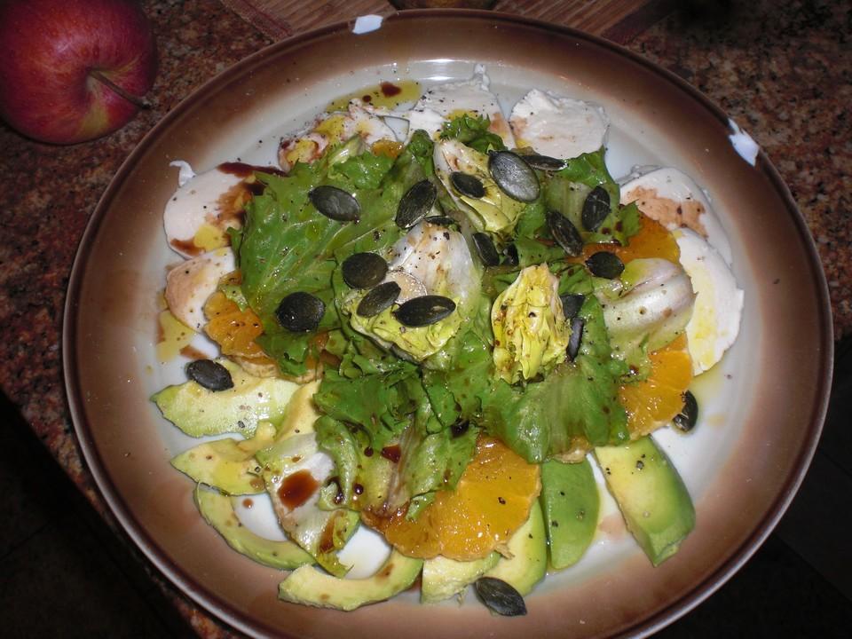 avocado mandarinen salat rezepte. Black Bedroom Furniture Sets. Home Design Ideas
