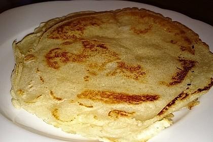 Pfannkuchen ohne Ei und Milch 3