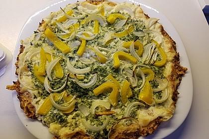 Low-Carb Flammkuchen vegetarisch 12