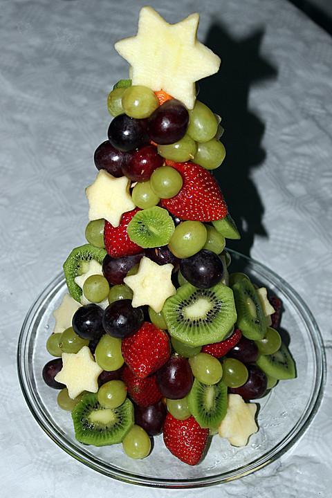 obst weihnachtsbaum rezept mit bild von moosmutzel311. Black Bedroom Furniture Sets. Home Design Ideas