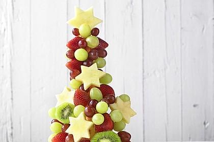 Obst-Weihnachtsbaum 2