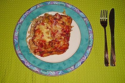 Anjas Spaghetti-Pizza