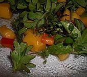 Mango-Feldsalat