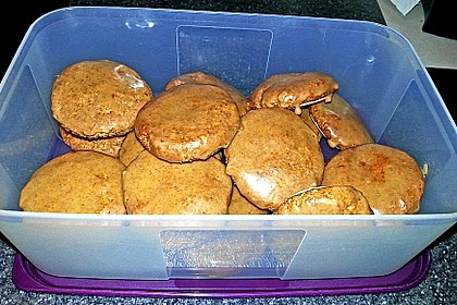 Vegane Marzipan-Zimt-Lebkuchen à la Mäusle 6