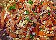Asiatischer Tomatensalat