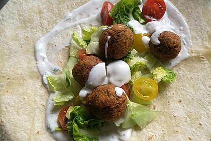 Schnelle vegane Falafel 14