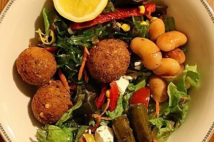 Schnelle vegane Falafel 2