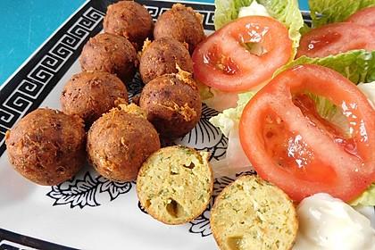 Schnelle vegane Falafel 1