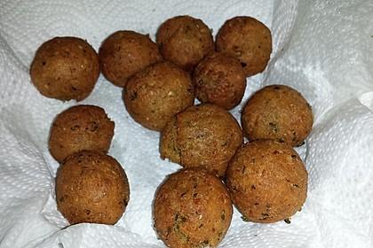 Schnelle vegane Falafel 8