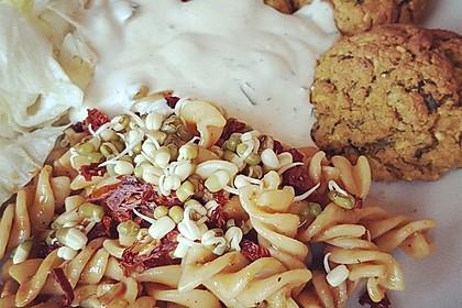 Schnelle vegane Falafel 6