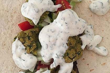 Schnelle vegane Falafel 15