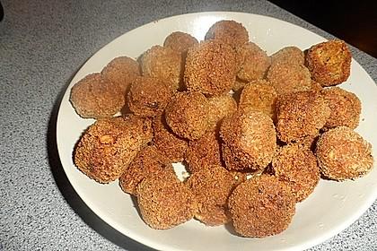 Schnelle vegane Falafel 12