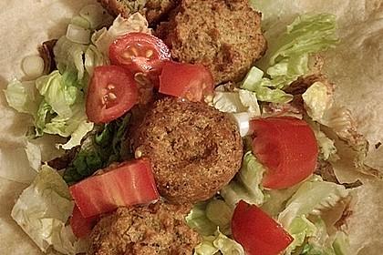 Schnelle vegane Falafel 9