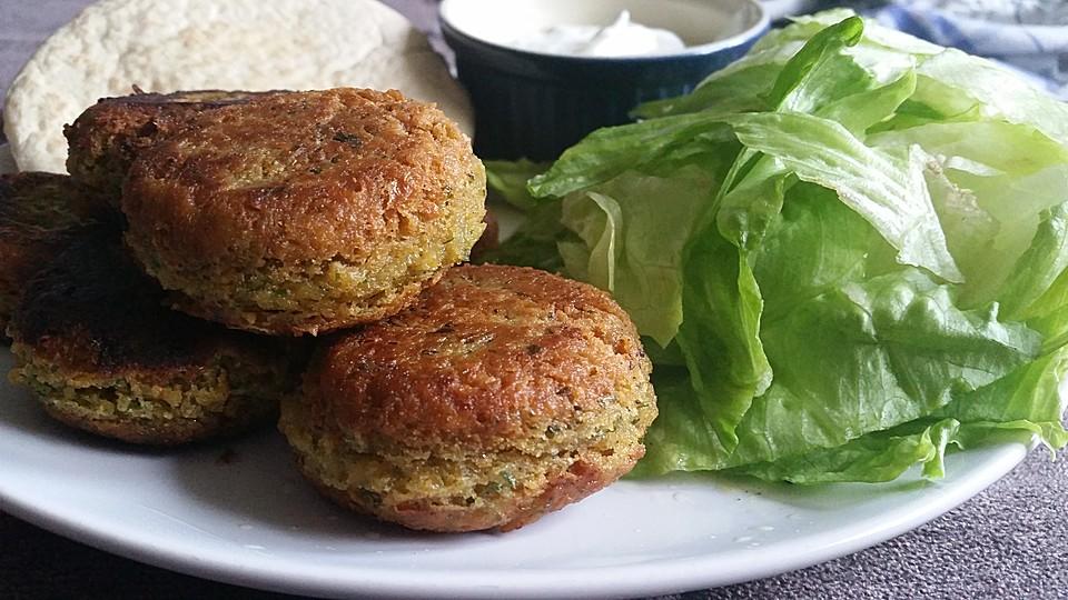 Schnelle vegane küche  Schnelle vegane Falafel (Rezept mit Bild) von Shakkaron | Chefkoch.de