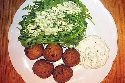 Schnelle vegane Falafel 3