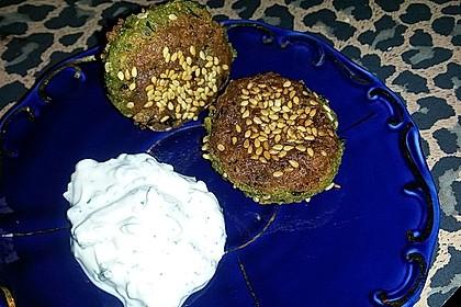 Schnelle vegane Falafel 23