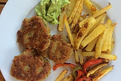 Schnelle vegane Falafel 11
