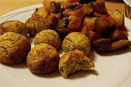 Schnelle vegane Falafel 16