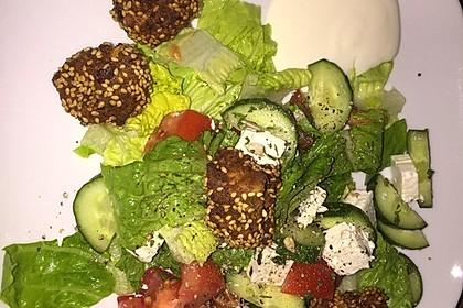 Schnelle vegane Falafel 21