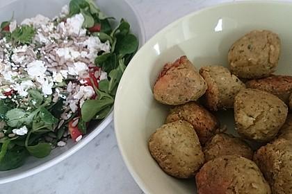 Schnelle vegane Falafel 18