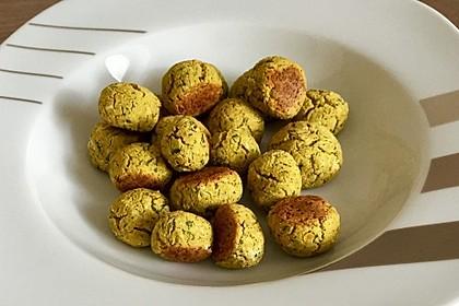 Schnelle vegane Falafel 26