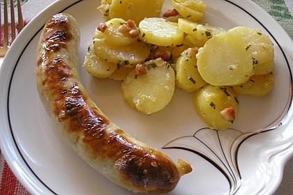 Leckerer Kartoffelsalat ohne Mayo und Speck 2