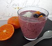 Heidelbeer-Mandarinen-Smoothie (Bild)
