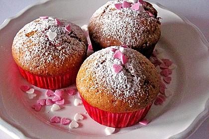 Muffins mit Füllung